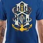 Rebel Eight Royal Blue T-Shirt