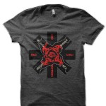 Red Hot Chili Peppers Charcoal Grey Black T-Shirt