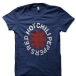 Red Hot Chili Peppers Navy Blue T-Shirt