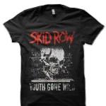 Skid Row Black T-Shirt