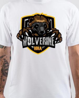 Wolverine MMA White T-Shirt