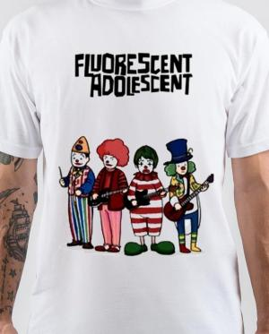 Arctic Monkeys Fluorescent Adolescent T-Shirt