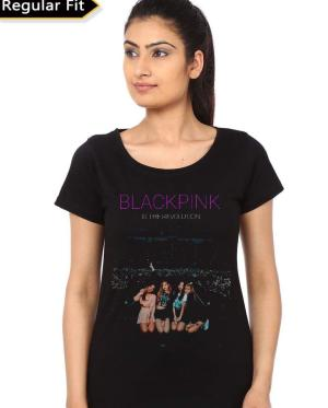 Blackpink Is The Revolution Black T-Shirt