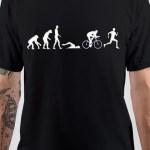 Evaluation Of Man Black T-Shirt