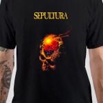 Sepultura Band Skull T-Shirt
