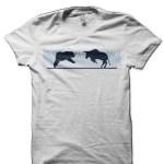 Share Market Bull Vs Bear White T-Shirt2