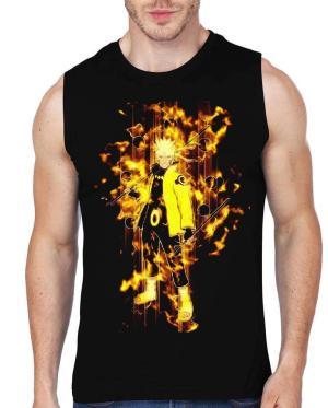 Naruto sleeveless T-shirt
