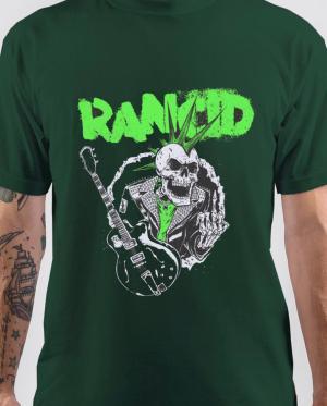 rancid green tshirt
