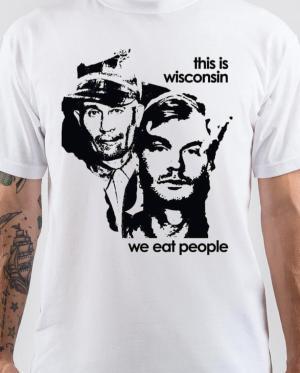 We Eat People White T-Shirt