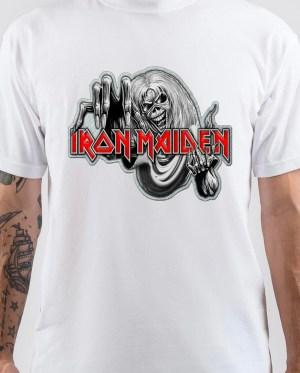 Iron Maiden White T-Shirt