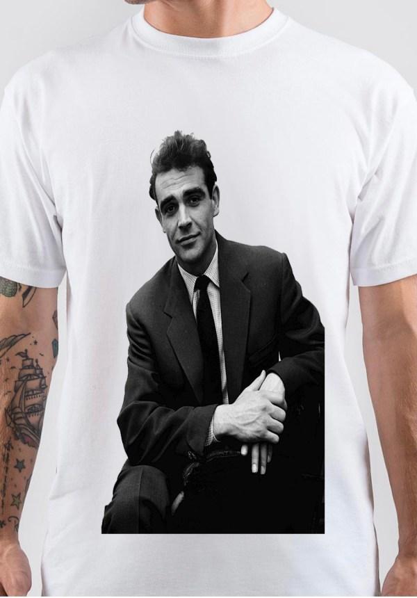 Sean Connery Art T-Shirt
