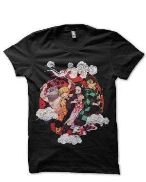 Kimetsu no yaiba, vintage, (Demon slayer) v1 T-Shirt