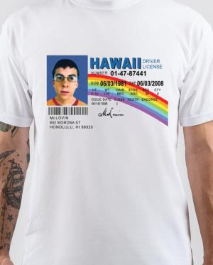 Hawaii Driver License T-Shirt