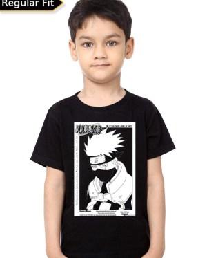 Naruto Black Kids T-Shirt