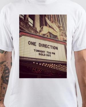 One Direction White T-Shirt