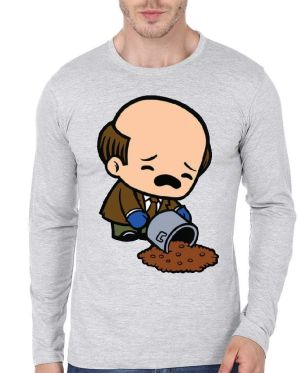 Kevin Malone Full Sleeve T-Shirt