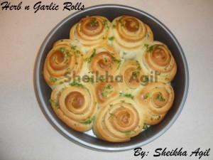Herb n Garlic Rolls