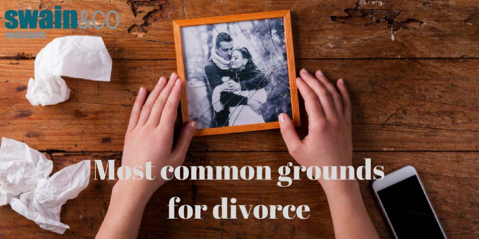 Most common Grounds for Divorce – 'we're not surprised'