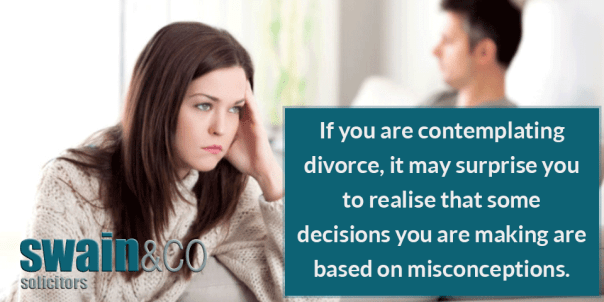 Common Divorce Myths | Family Law Legal Advice | Swain & Co Solicitors
