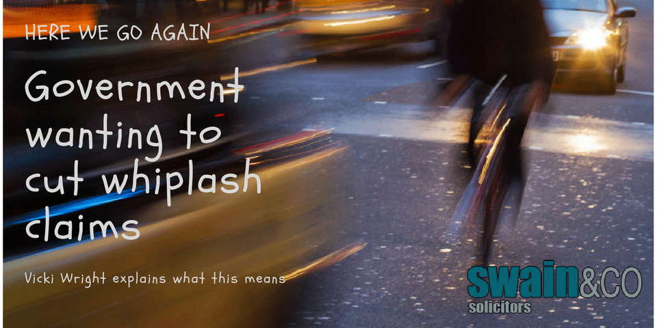 Whiplash Claims – Here we go again!