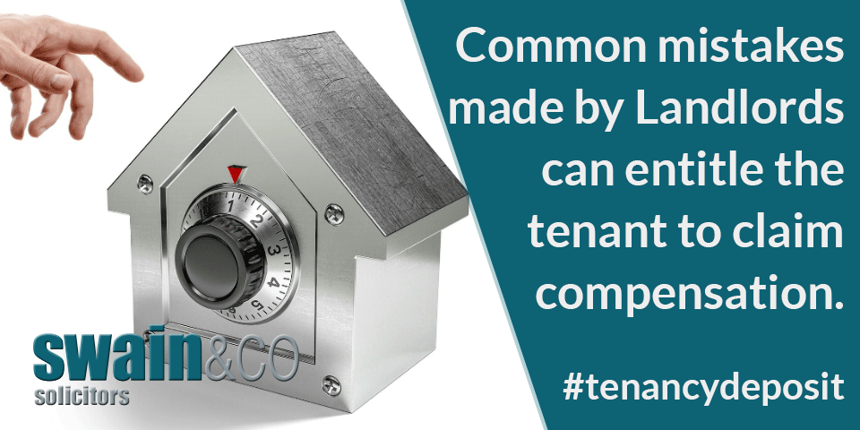 Tenancy Deposits – Could you claim Compensation?