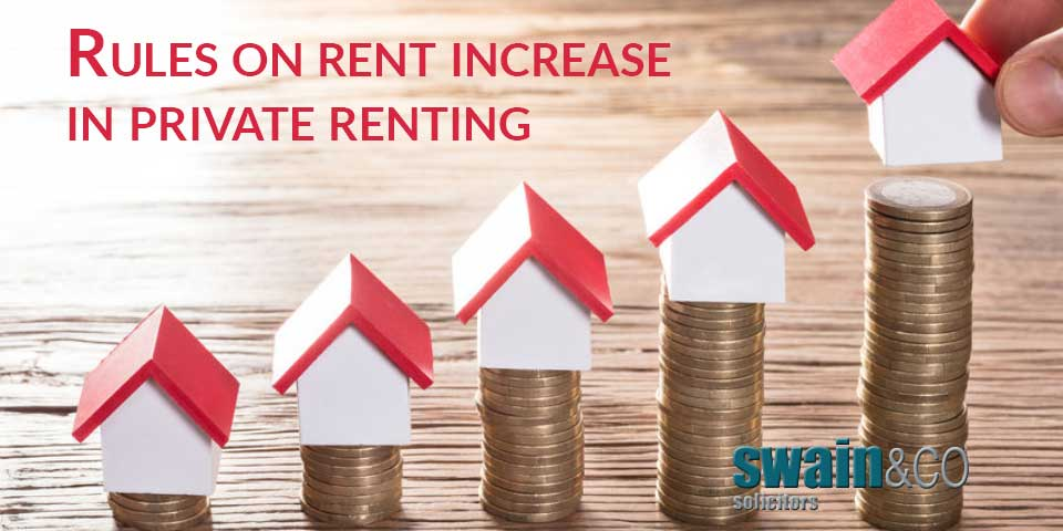 Rules on rent increase in private renting
