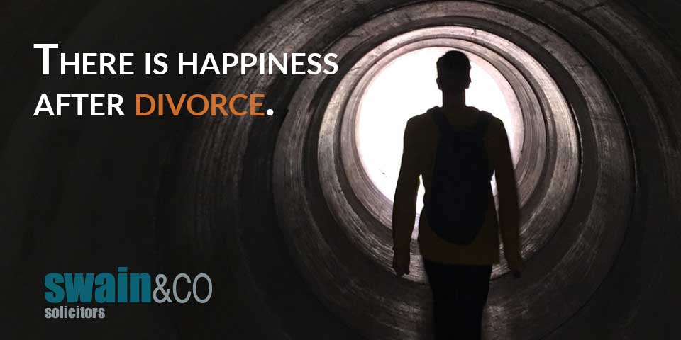 There is happiness after divorce