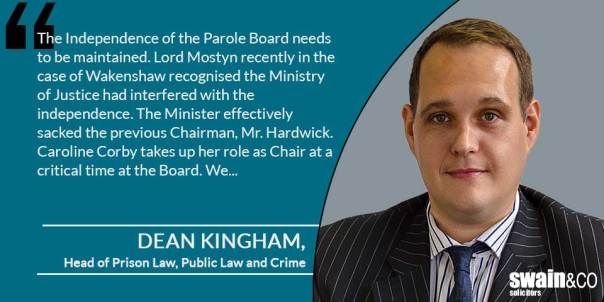 Dean Kingham was invited by the BBC to take part in the discussion | Prison Law Solicitors and Lawyers | Swain & Co Solicitors