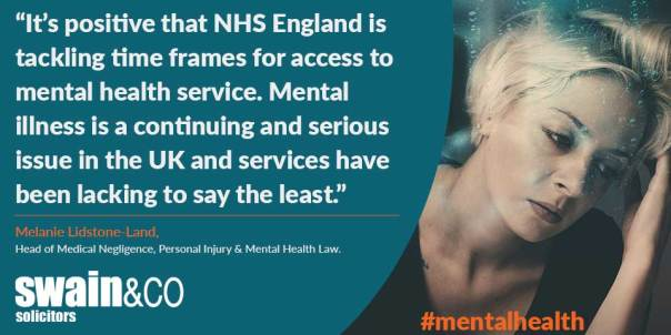 New targets for emergency mental health | Mental Health Solicitors | Swain & Co Solicitors