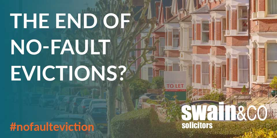 The end of no-fault evictions?