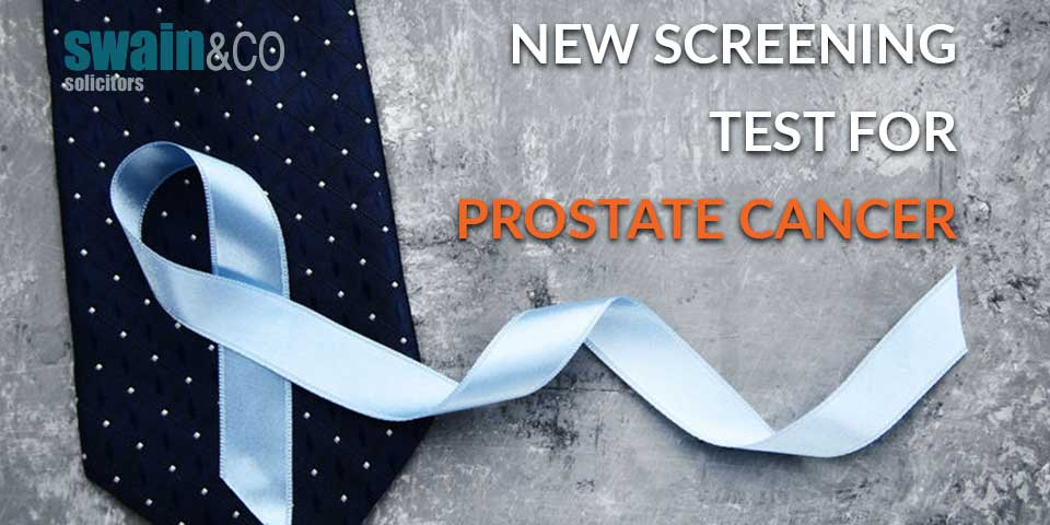 New screening test for prostate cancer