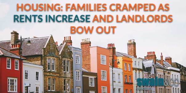 Housing: families cramped as rents increase and landlords bow out | Housing Law Advice | Swain & Co Solicitors