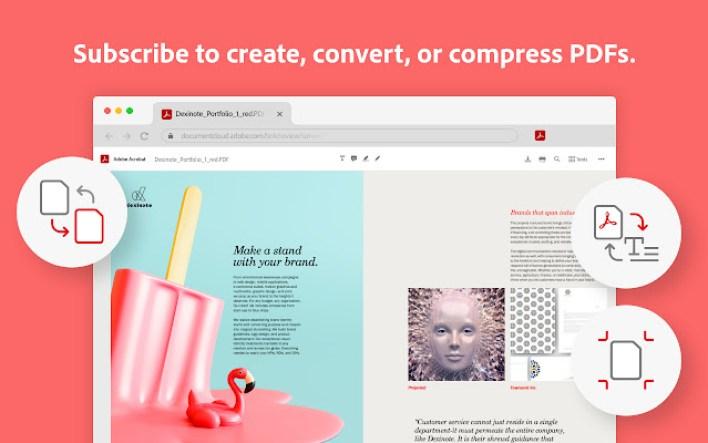 Adobe تطلق اضافة لمتصفح كروم تتيح التعديل على ملفات PDF 1