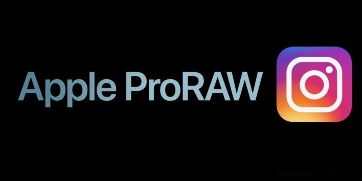 تطبيق انستجرام للايفون سيدعم الان صور الـ ProRAW