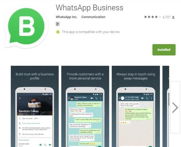 تطبيق واتس اب للاعمال متاح في اغلب الدول العربية الان