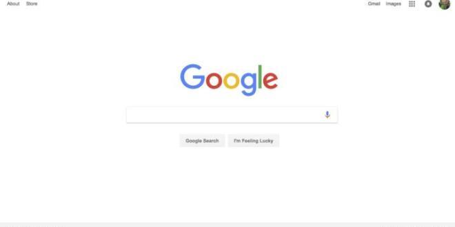 صفحة جوجل الرئيسية تضيف روابط جديدة