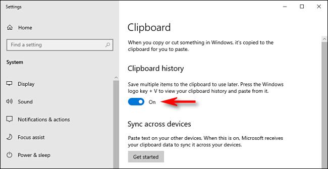 Clipboard history : كيف يمكنك تفعيلها في ويندوز 10 2
