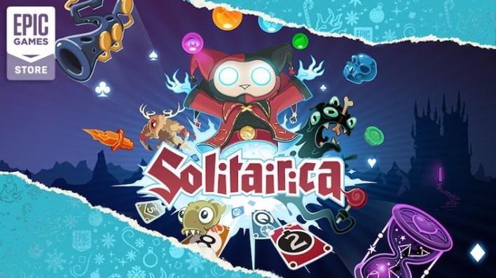 لعبة Solitairica متاحه مجانا الان على Epic Games Store