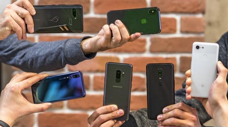 مبيعات الهواتف الذكية تسجل انخفاض سنوي في الربع الاول من 2019