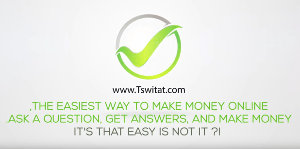 موقع Tswitat لربح المال من الانترنت بفكرة جديدة وسهلة