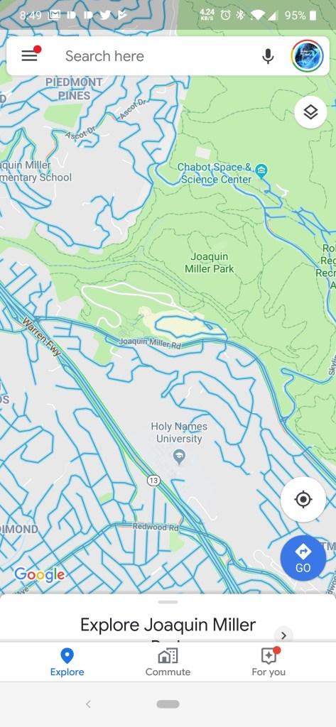 جوجل تضيف ميزة التجول الافتراضي في تطبيق الخرائط 2