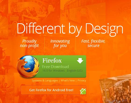 فايرفوكس 16 متاح الان للتحميل 9