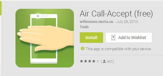 تطبيق مجاني لاغلب هواتف الاندرويد يتيح لك الرد على المكالمات دون لمس الهاتف 9