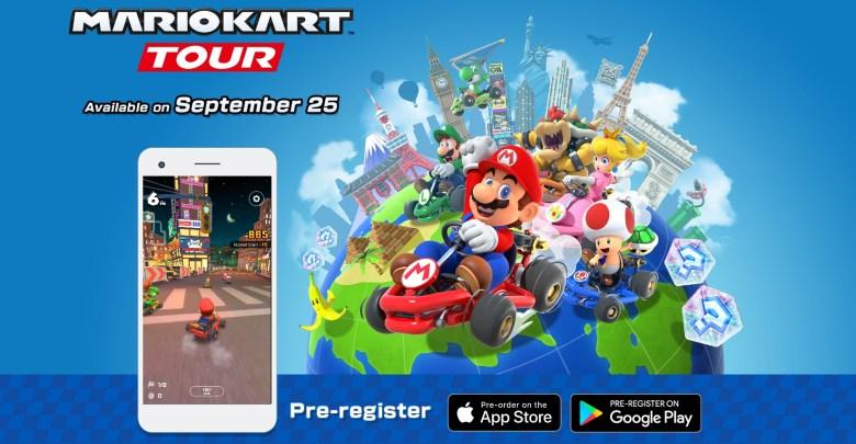 25 سبتمبر موعد وصول لعبة Mario Kart Tour الى هاتفك الذكي