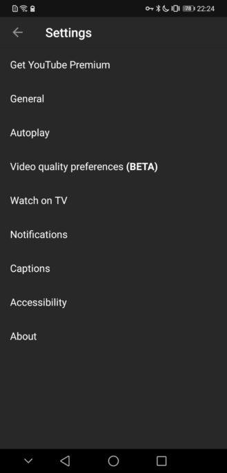 يوتيوب سيتيح لك اختيار إعداد جودة الفيديو الافتراضي - اخيرا 3