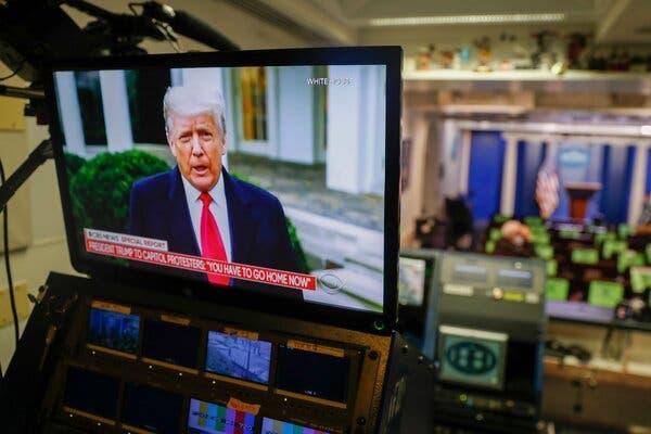 5 منصات تواصل اجتماعي تعلّق حساب الرئيس الامريكي ترامب