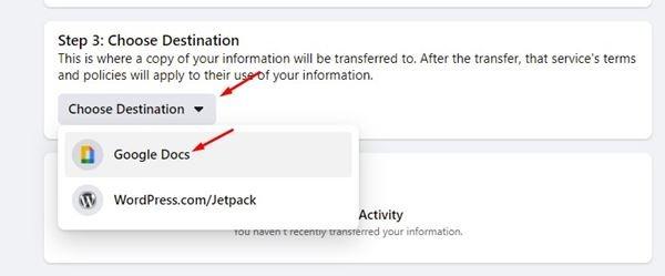 منشورات فيس بوك - كيف تقوم بتحويلها الى مستندات جوجل او ووردبريس 7