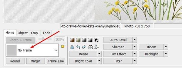 ويندوز 10 - كيف تضيف إطار للصور 2