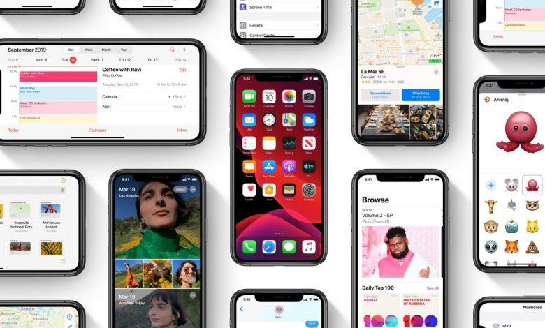 iOS 13 موجود الان على 81% من أجهزة أبل