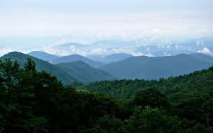 Blue Ridge Mountains Background